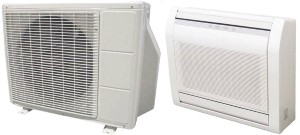 Fujitsu AGU15RLF AOU15RLFF 15000 BTU Floor Mount SEER 20.3 Ductless Air Conditioner