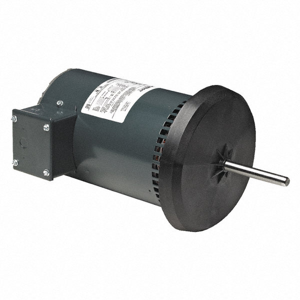 5/64 HP Condenser Fan Motor,Permanent Split Capacitor,1075 Nameplate RPM,200-230/460 Voltage,Frame 4