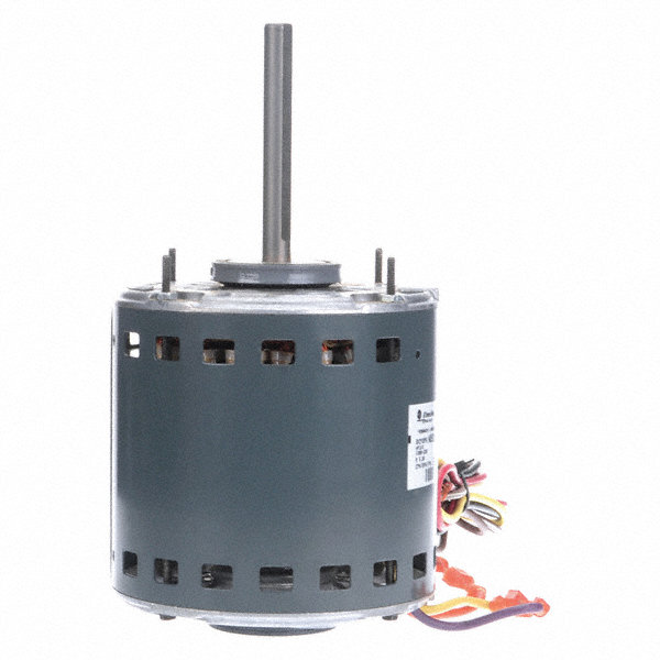 GENTEQ 3/4 HP Direct Drive Blower Motor, Permanent Split Capacitor, 1075 Nameplate RPM, 208-230 Voltage