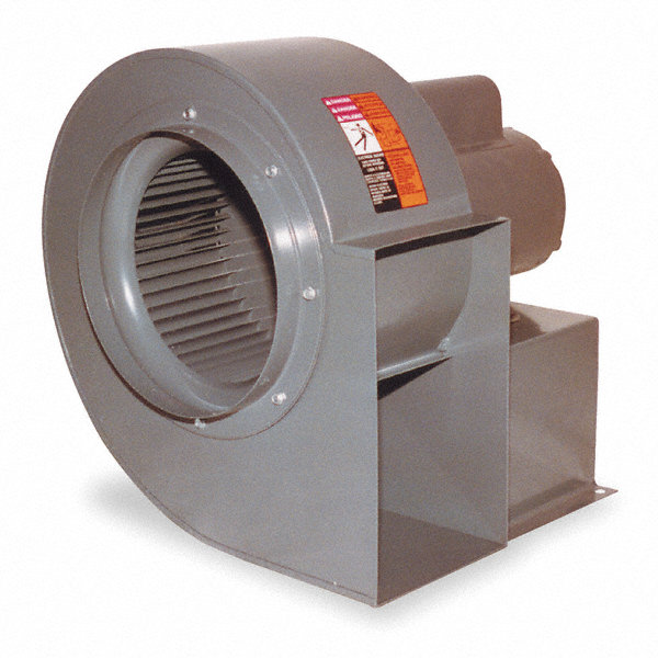 DAYTON Blower,10 In,Capacity