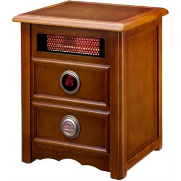 Dr. Infrared Heater DR-999 Infrared Heater & Cherry Cabinet
