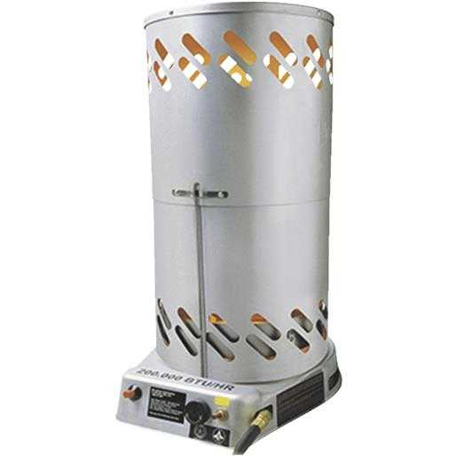 Mr. Heater Convection Htr 200K Btu F270500 Unit: EACH