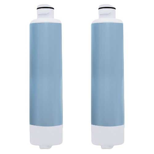 Aqua Fresh Replacement Water Filter f/ Samsung RFG29PHDBP/XAA Refrigerator Model 2 Pk