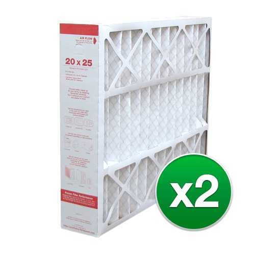 Replacement Pleated Air Filter for Honeywell FC200E1037 20x25x4 MERV 11 (2 Pack)