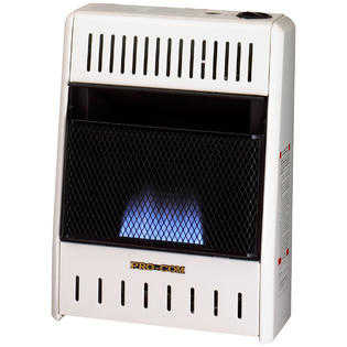 Procom ML100HBA Vent Free Liquid Propane Gas Blue Flame Space Heater - 10,000 BTU, Manual Control