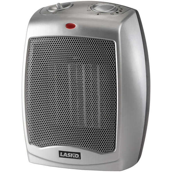 Lasko 754200 1500W Ceramic Heater with Adjustable Thermostat