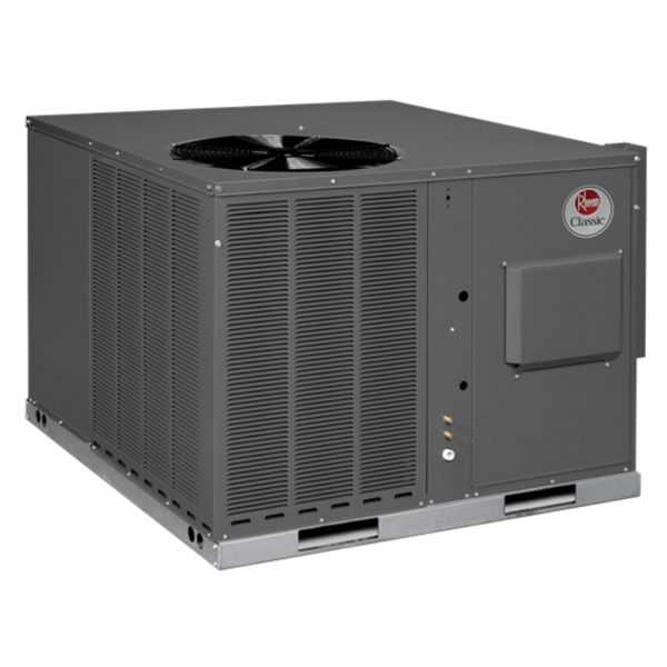 Rheem RGEA13036ACD081AA - Classic 3 Ton 13 SEER Packaged Gas/Electric Unit, 208-230/3/60