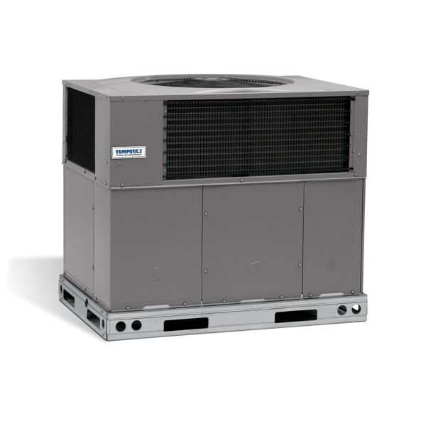 Tempstar PAD336000H000C - Standard 3 Ton, 13 SEER, R410A, Air Conditioner Package Unit, 208/230-3-60