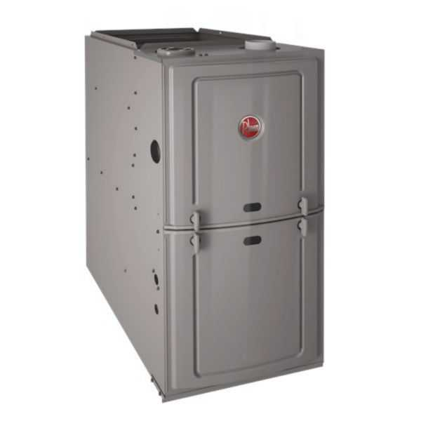 Rheem - R801SA050314MXA - Classic 80% Gas Furnace, 1 Stage, 50K BTU Upflow/Horizontal, PSC Motor, Low NOx, Up to 3 Ton