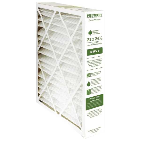 PROTECH PD540044 - Replacement Media Filters for Exact Fit XHF Series Media Air Cleaners, 21' X 24.5' X 5'