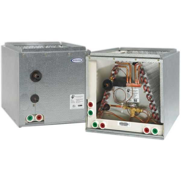 ADP RE50660E245B2722AP - HE Series Cased Evaporator Coil 5 Ton Copper Left Hand Multi-Position, R410A, 21.5' X 24.5' X 27.5'