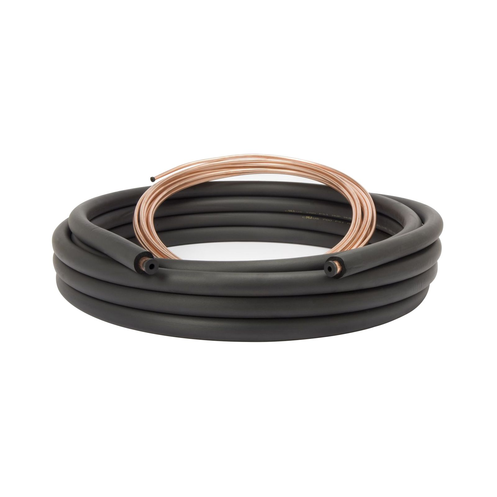 "Streamline 61480300 - Copper Line Set 3/8"" x 7/8"" x 3/8"" Insulation, 30' Length I.D."