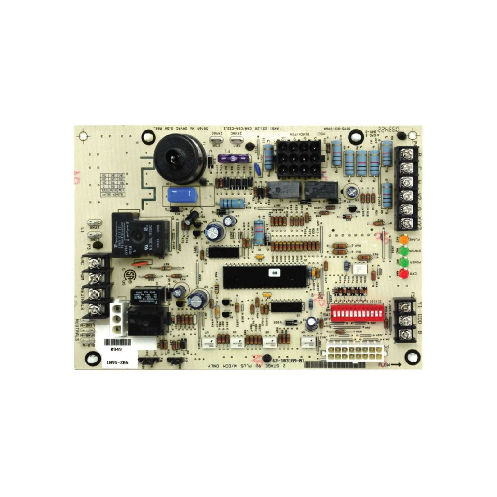 UTEC 62-103189-01 - Integrated Furnace Control Board (IFC)