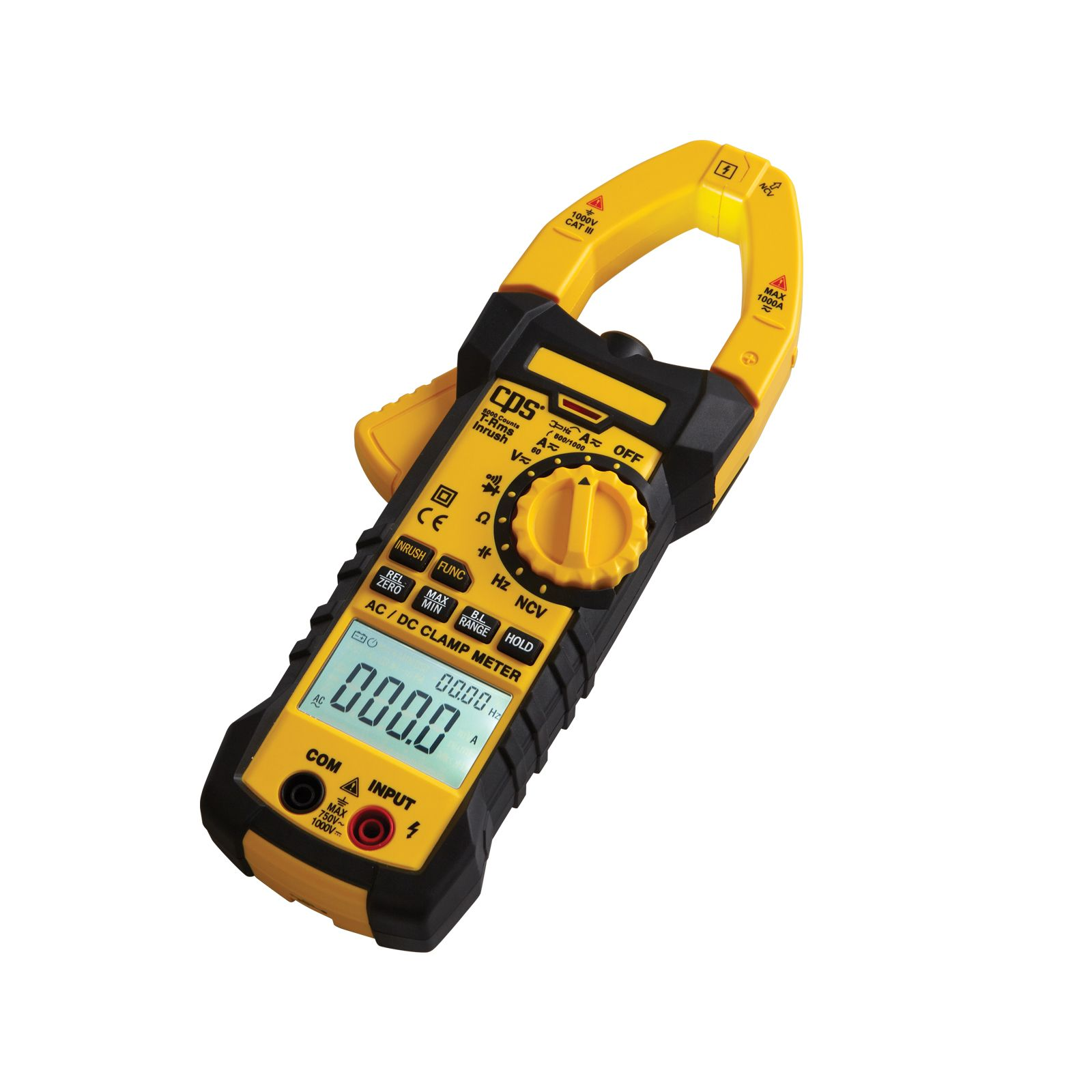CPS AC750 - Multi-Functional AC/DC True RMS Clamp Meter