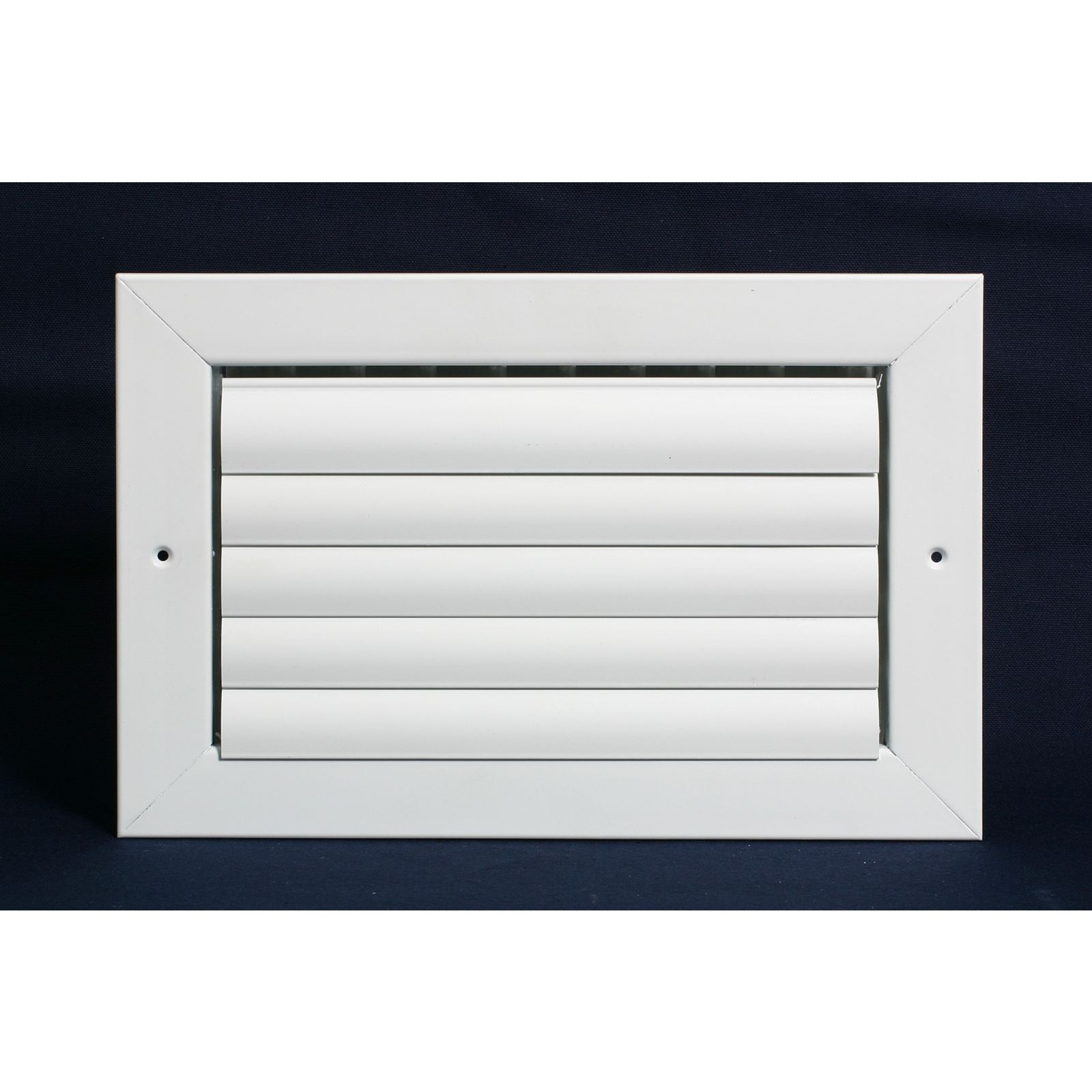 "Grille Tech CL1M1616 - Aluminum Ceiling 1-Way Deflection Supply, Multi-shutter 16"" X 16"" White"